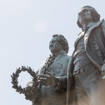 Weimar - The poets Goethe and Schiller